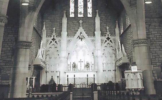 Intact altar